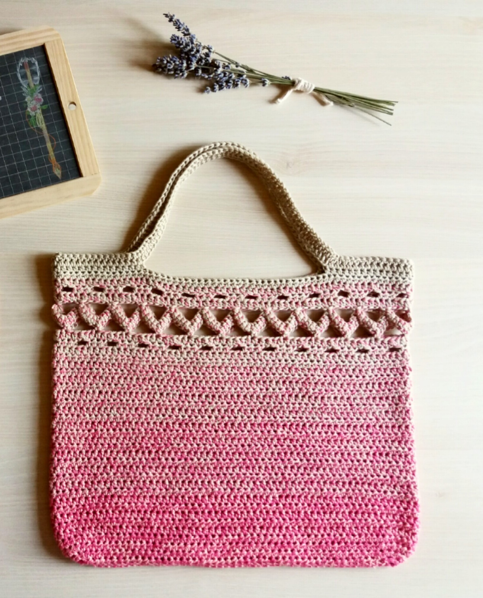 Boho Crochet Tote Bag Free Pattern Fibre Folk